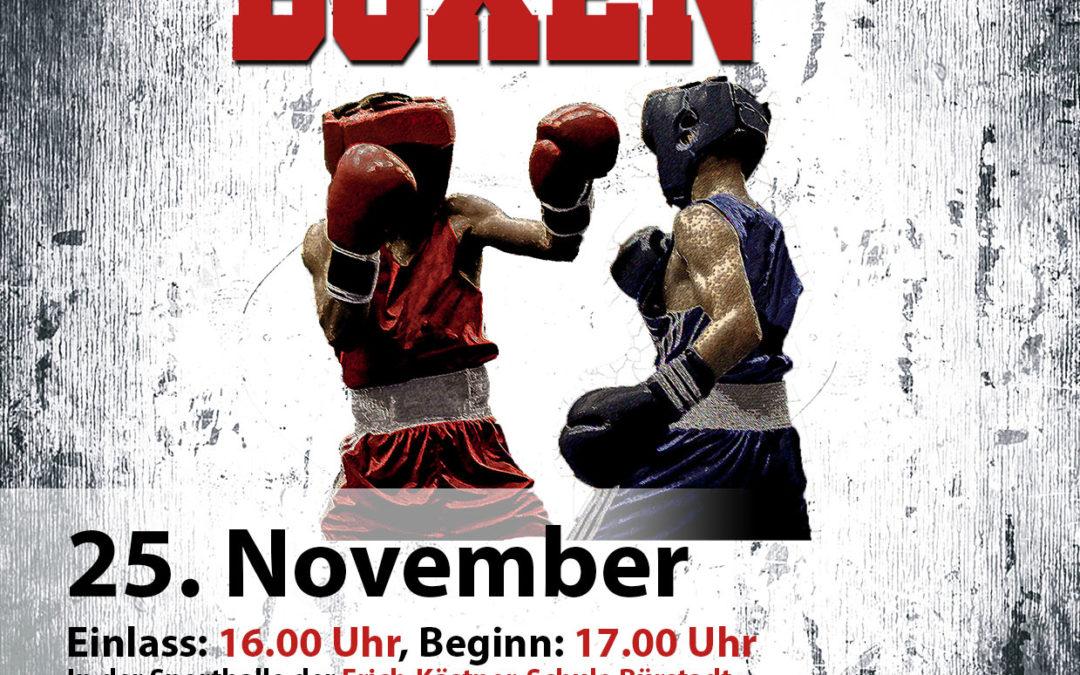 6. Boxgala in Bürstadt