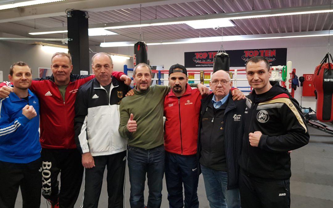 Neuer B-Trainer beim Boxring Bürstadt