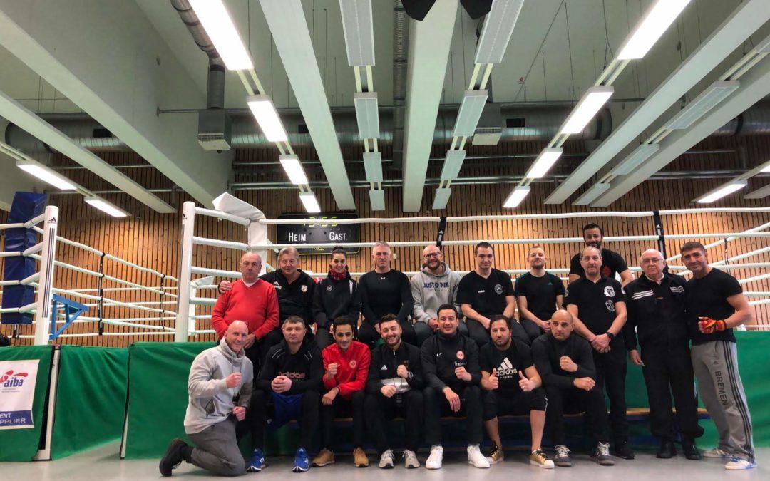 A-Trainer beim Boxring-Bürstadt