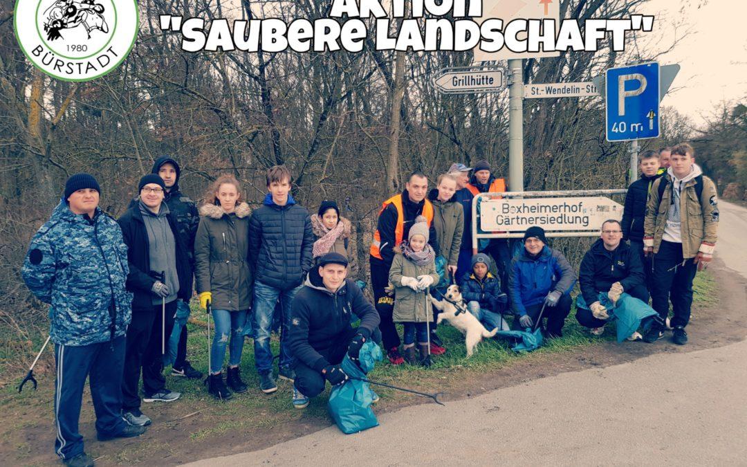 """Aktion """"Saubere Landschaft"""", Samstag, den 16.03.2019"""